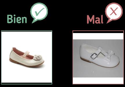 Comparativa de fotos de productos