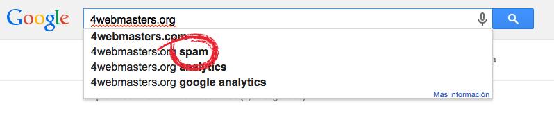 Busqueda Google 4webmasters.org