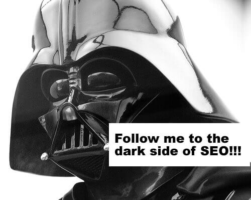 Darth Vader y el dark side del SEO