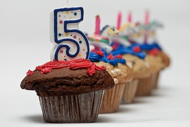 ¡Cumplimos 5 años!