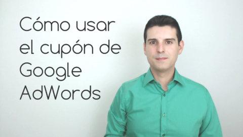 Cómo usar el cupón de Google AdWords